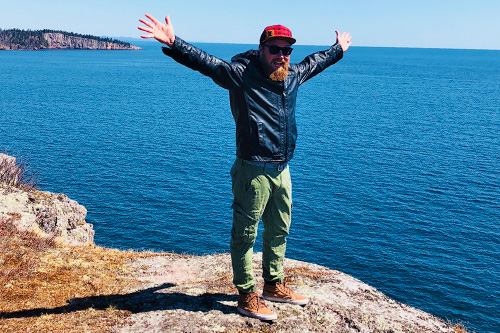 Solo travel on the north shore of Lake Superior