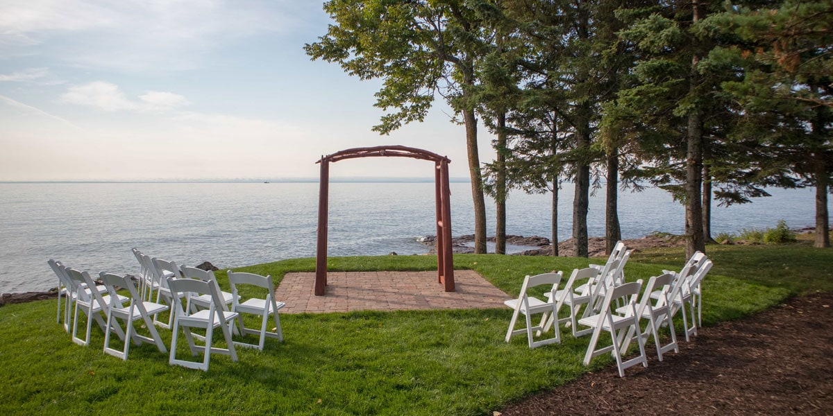 Lake Superior Wedding Ceremony Site