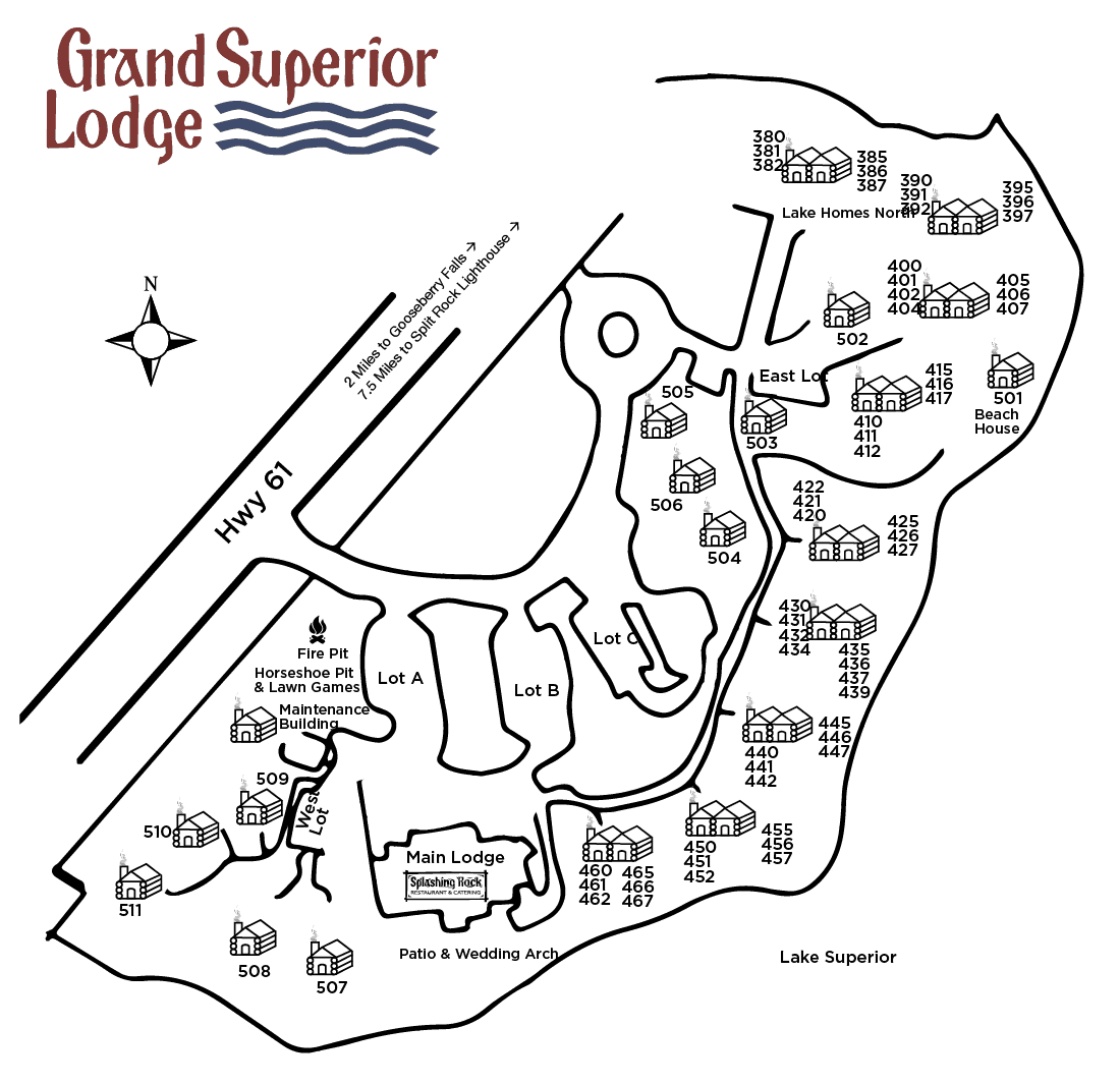 Property map of Grand Superior