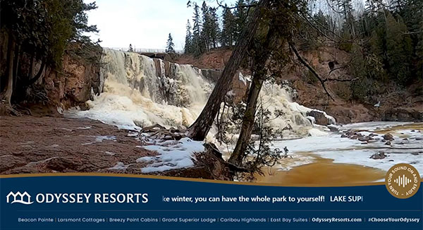 Virtual Vacation Video of Gooseberry Falls